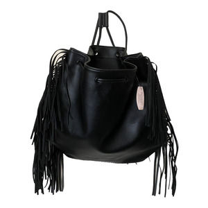 Victoria's Secret Vegan Leather Back Pack Fringe